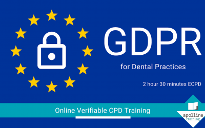 GDPR for Dental Practices - Online, verifiable CPD for dentists