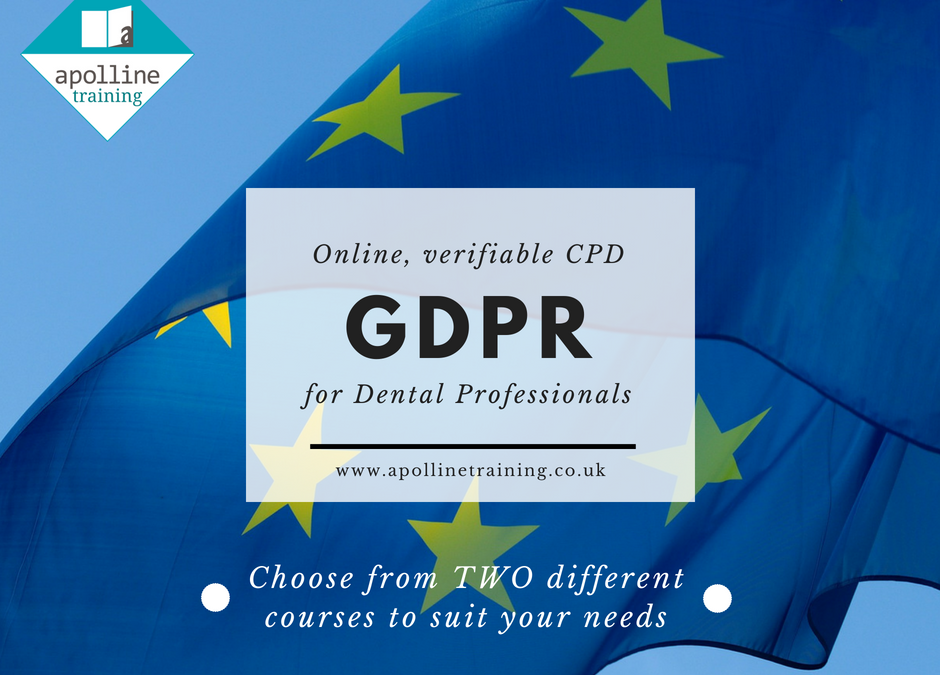 FREE Online, Verifiable GDPR Courses for Dental Professionals