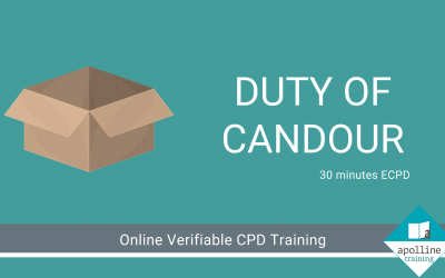 Duty of Candour - Online, verifiable course for dental care professionals