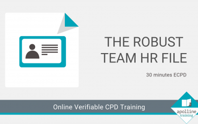 Online CPD for Dental Care Professionals - Robust HR