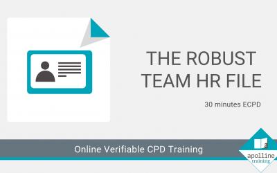 Online CPD for Dental Care Professionals - Robust HR