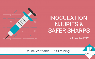 Inoculation Injuries and Safer Sharps - Online, verifiable CPD course from Apolline Training