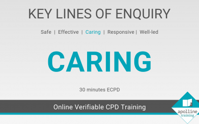 Caring: Key Lines of Enquiry online CPD course for dental care professionals