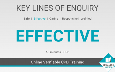 Effective: Key Lines of Enquiry online CPD course for dental care professionals