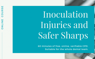 Free, online, verifiable CPD. Introducing Inoculation Injuries and Safer Sharps