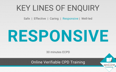 Responsive: Key Lines of Enquiry online CPD course for dental care professionals