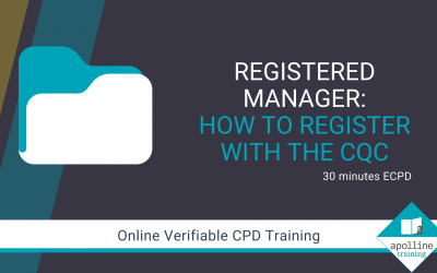 Registered Manager - How to register with the CQC - Online CPD course for dental professionals