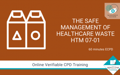 Safe Management of Waste HTM-07-01 Online Course- Part of the COVID-19 Course Bundle