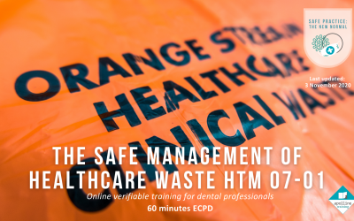 The Safe Management of Healthcare Waste HTM 07-01