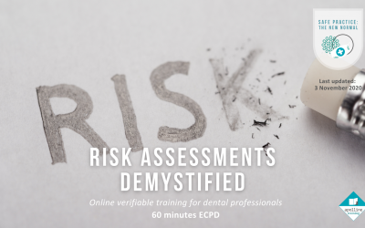 Risk Assessments Demystified