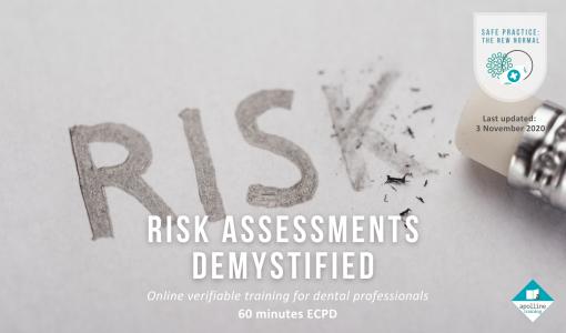 Risk Assessments Demystified