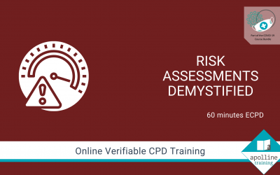 Risk Assessments - Online course from Apolline Training - Part of VODI-19 Bundle