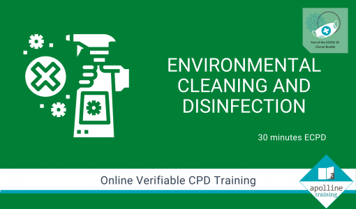 Environmental Cleaning and Disinfection Online Course - Part of the COVID-19 Bundle