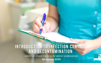 Introduction to Infection Control and Decontamination - online course for dental professionals