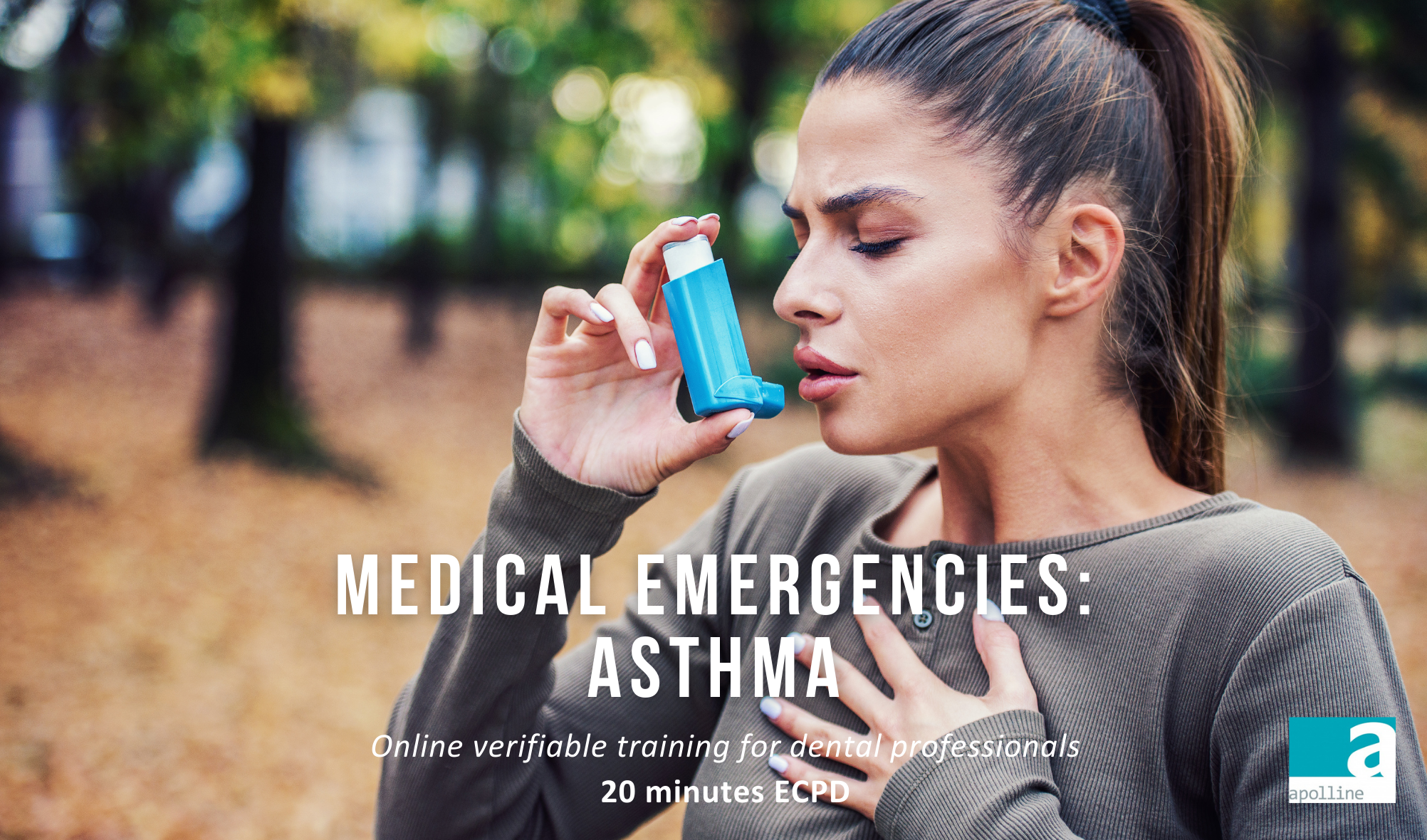Apolline Training Medical Emergencies Asthma Online Course for dental Professionals