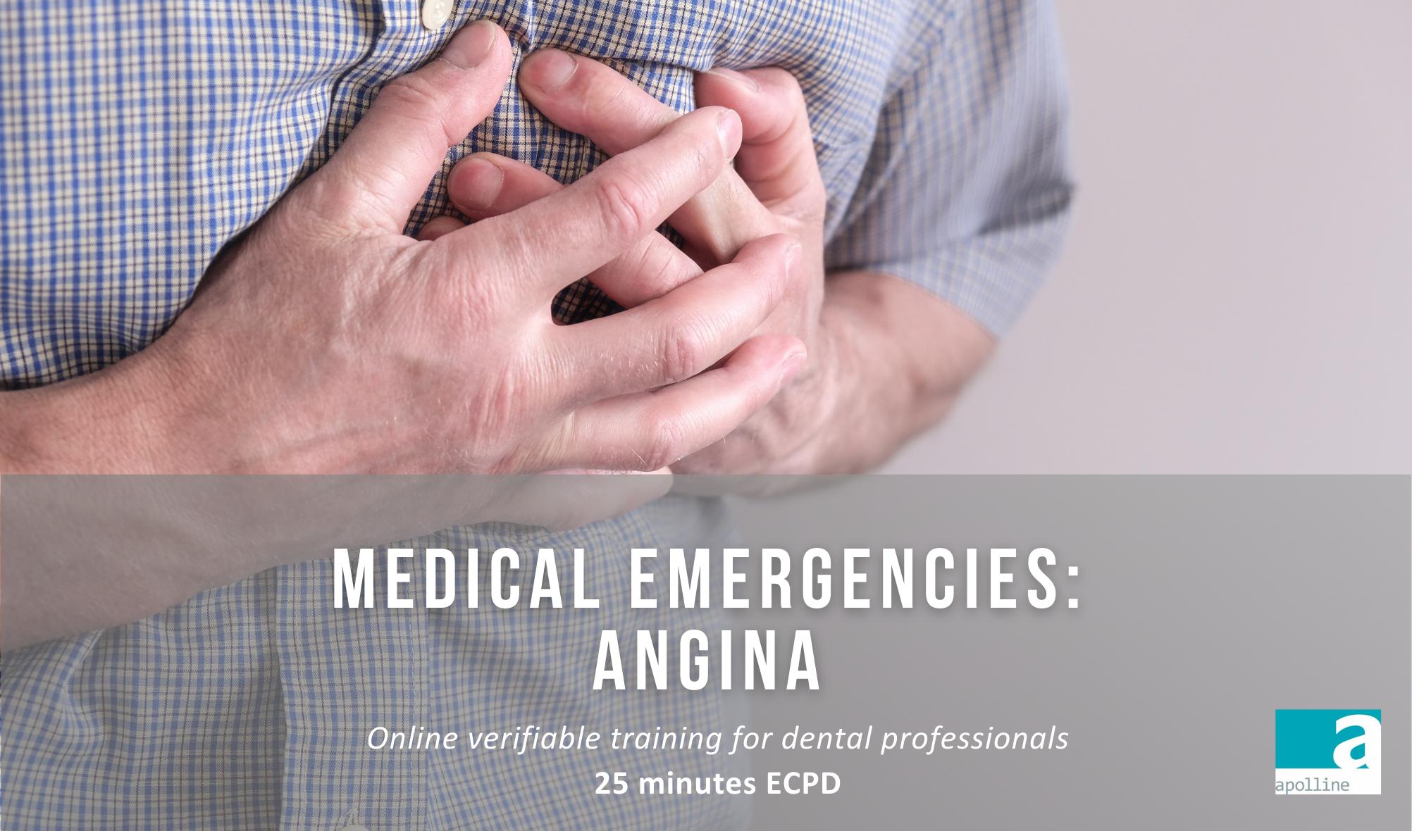 Medical EmergenciesAngina Course Logo-Apolline Training