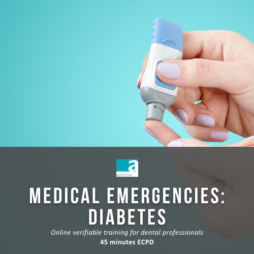 Medical Emergencies Diabetes online course for dental professionals - Apolline Training