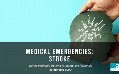 Apolline STROKE Medical Emergencies course for dental professionals logo