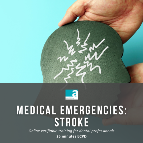 Medical Emergencies - Stroke - online course for dental professionals