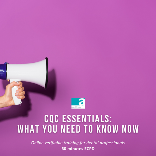 CQC Essentials – What you need to know online CPD course logo badge