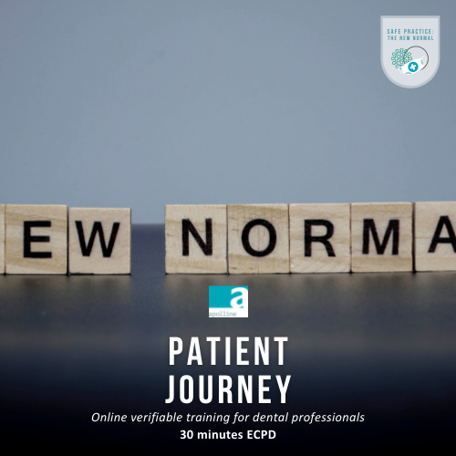 New Patient Journey course logo badge dental Apolline Training