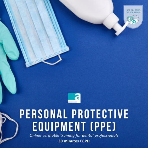 Personal Protective Equipment (PPE) online course logo badge