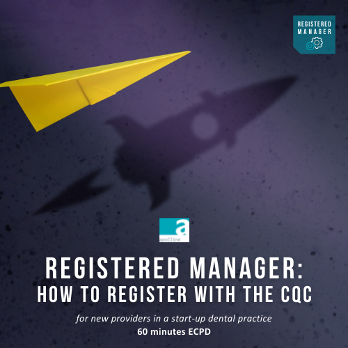 Registered Manager: How to register with the CQC as a new Provider course logo badge Apolline Training