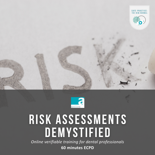 Risk Assessments Demystified online course logo badge