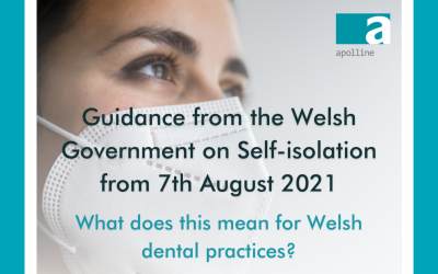 Guidance from the Welsh Government on Self-isolation from 7th August 2021